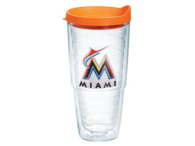 Miami Marlins 24oz Tervis Tumbler