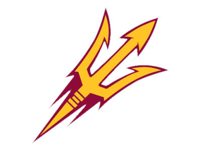 Arizona State Sun Devils Die Cut Color Decal 8in X 8in