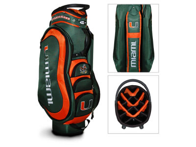 Miami Hurricanes Medalist Cart Bag