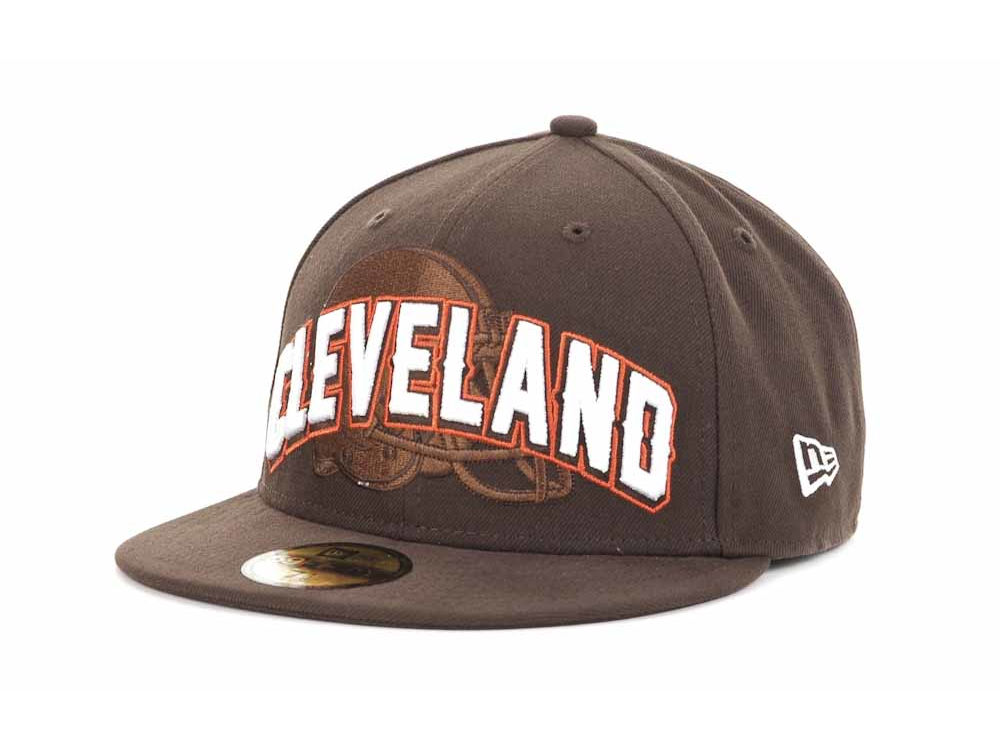 Cleveland Browns New Era NFL 2012 Kids NFL Draft 59FIFTY  3bf152220