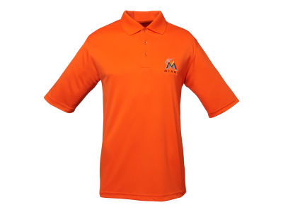 Miami Marlins MLB Men's Exceed Polo Shirt