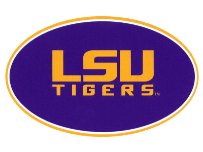 LSU Tigers 8in Car Magnet
