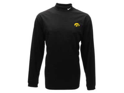 Iowa Hawkeyes Nike NCAA Long Sleeve Stretch Mock Pullover