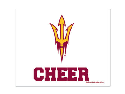 Arizona State Sun Devils 3x4 Ultra Decal