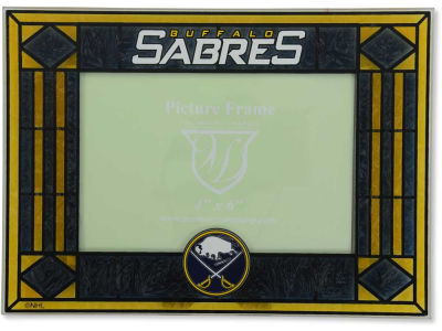 Buffalo Sabres Art Glass Picture Frame