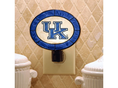 Kentucky Wildcats Art Glass Night Light