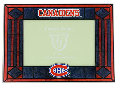 Montreal Canadiens Art Glass Picture Frame