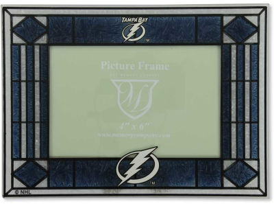 Tampa Bay Lightning Art Glass Picture Frame