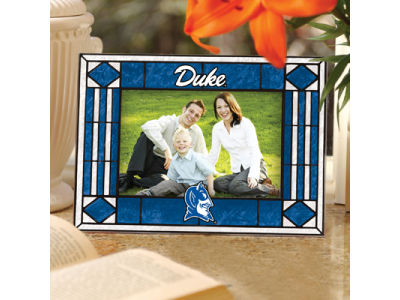 Duke Blue Devils Art Glass Picture Frame