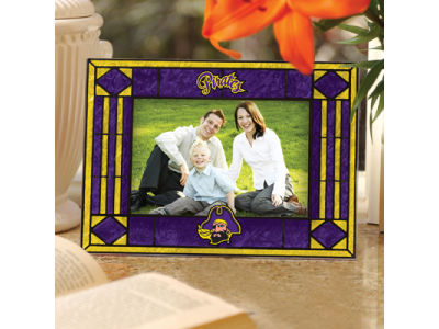 East Carolina Pirates Art Glass Picture Frame
