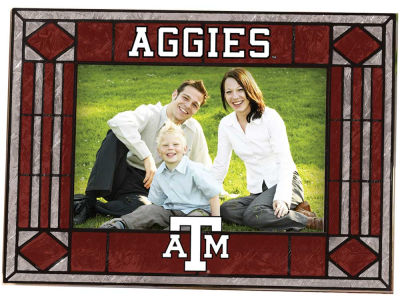 Texas A&M Aggies Art Glass Picture Frame