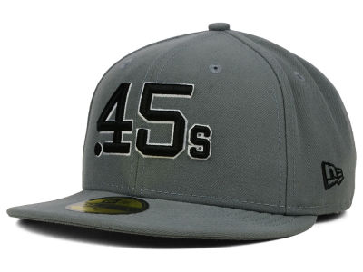 Houston Colt 45s New Era MLB Gray BW 59FIFTY Cap