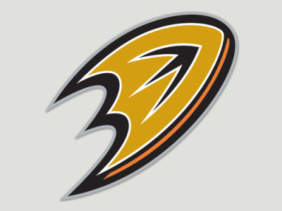 Anaheim Ducks Die Cut Color Decal 8in X 8in