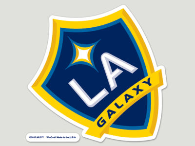 LA Galaxy Die Cut Color Decal 8in X 8in