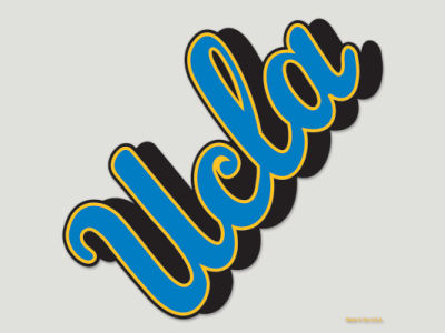 UCLA Bruins Die Cut Color Decal 8in X 8in