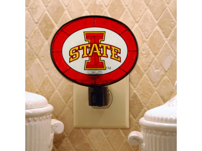 Iowa State Cyclones Art Glass Night Light