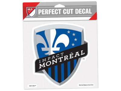 Montreal Impact Die Cut Color Decal 8in X 8in