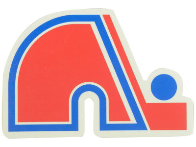 Quebec Nordiques Die Cut Color Decal 8in X 8in