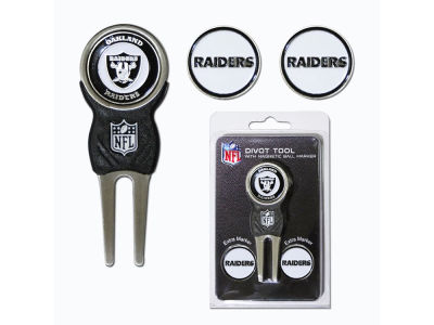 Oakland Raiders Divot Tool and Markers