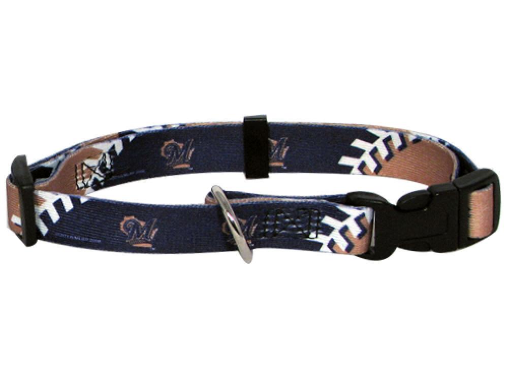 479163bd9 Milwaukee Brewers Wincraft Large Dog Collar