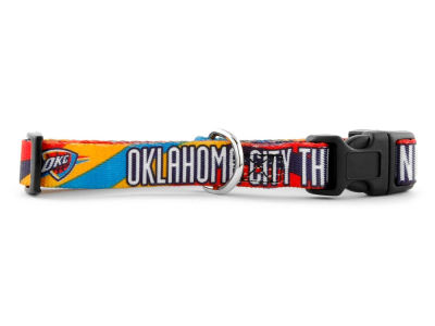Oklahoma City Thunder Medium Dog Collar