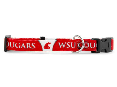 Washington State Cougars Medium Dog Collar