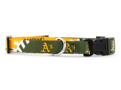 Oakland Athletics Small Dog Collar