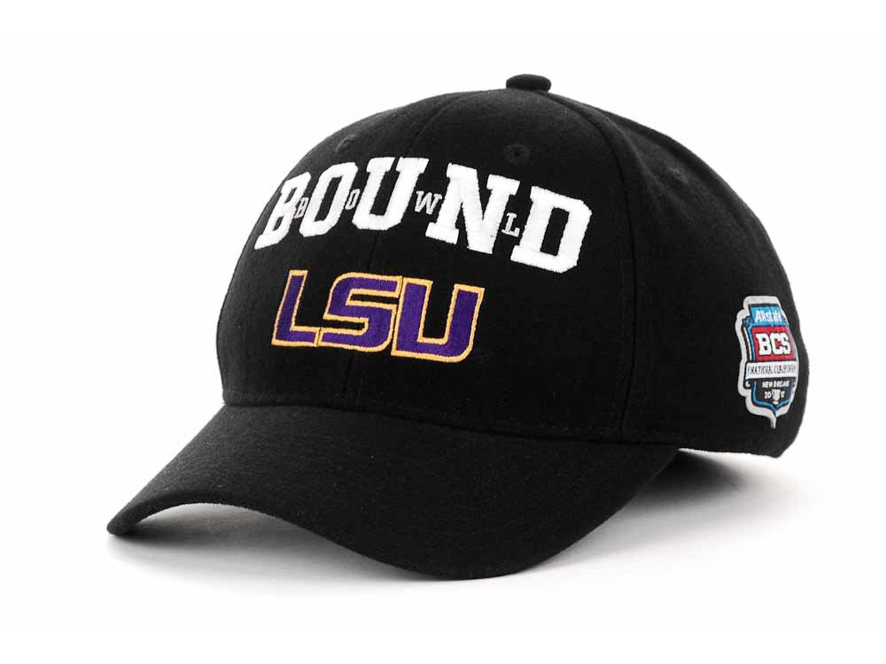 36417075 LSU Tigers adidas 2011 BCS LR Champs Snapback Cap | lids.com