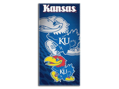 Kansas Jayhawks Beach Towel Emblem