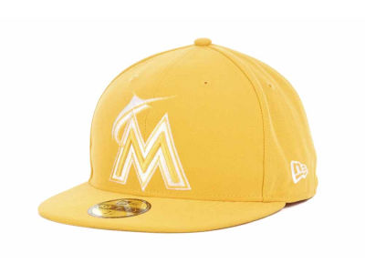 Miami Marlins New Era MLB C-Dub 59FIFTY Cap