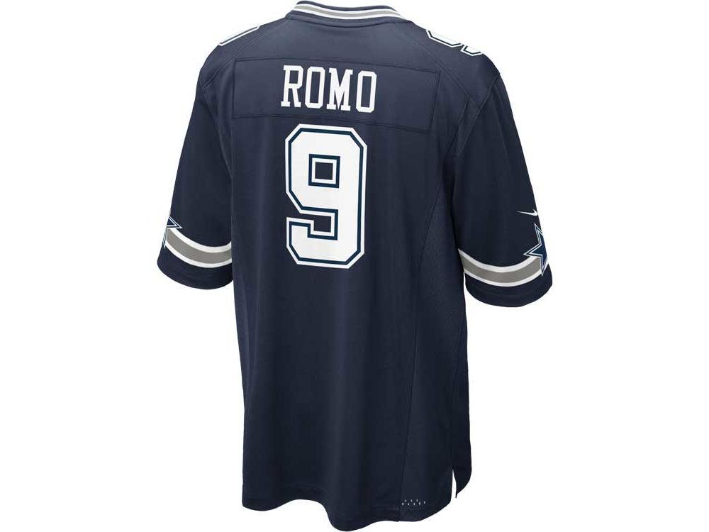 Dallas Cowboys Tony Romo Nike NFL Youth Game Jersey  c40fb7032