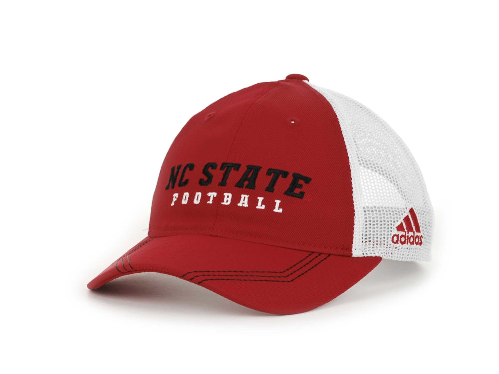 North Carolina State Wolfpack adidas NCAA Adidas Camp Slouch Cap ... d4b238a6e17