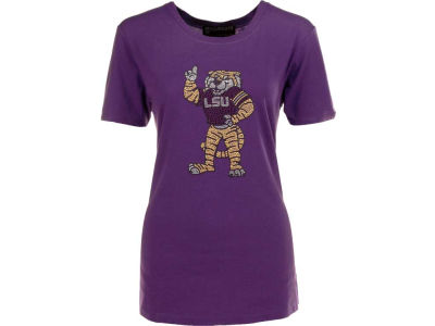 LSU Tigers NCAA Ladies Crystal T-Shirt