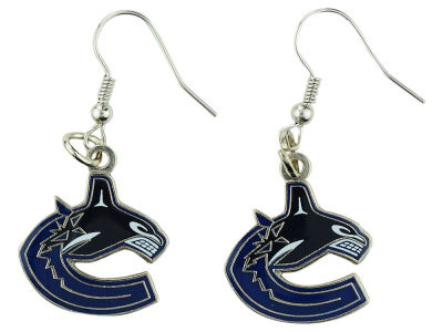 Vancouver Canucks Logo Dangle Pendant Earrings