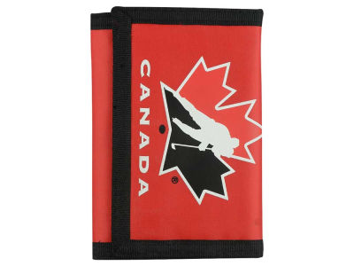 Canada Hockey NHL Nylon Trifold Wallet