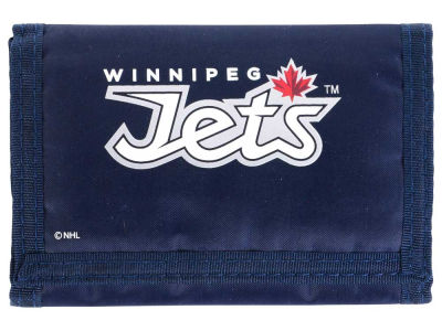 Winnipeg Jets NHL Nylon Trifold Wallet