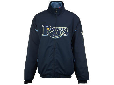 Tampa Bay Rays Majestic MLB Men's Therma Base Triple Peak Premier Jacket