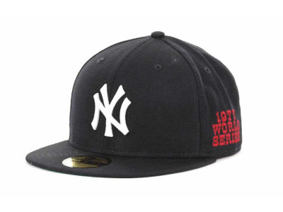 New York Yankees New Era MLB Retro World Series Patch 59FIFTY Cap
