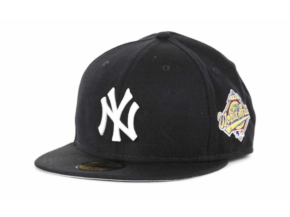 New York Yankees New Era MLB Retro World Series Patch 59FIFTY Cap ... 4716b9b6c2f