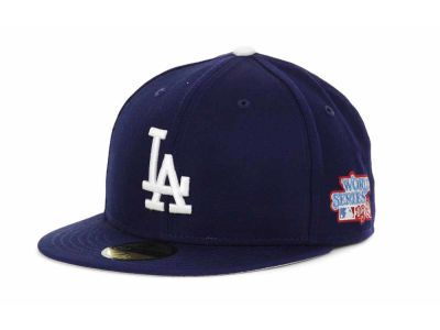 Los Angeles Dodgers New Era MLB Retro World Series Patch 59FIFTY Cap