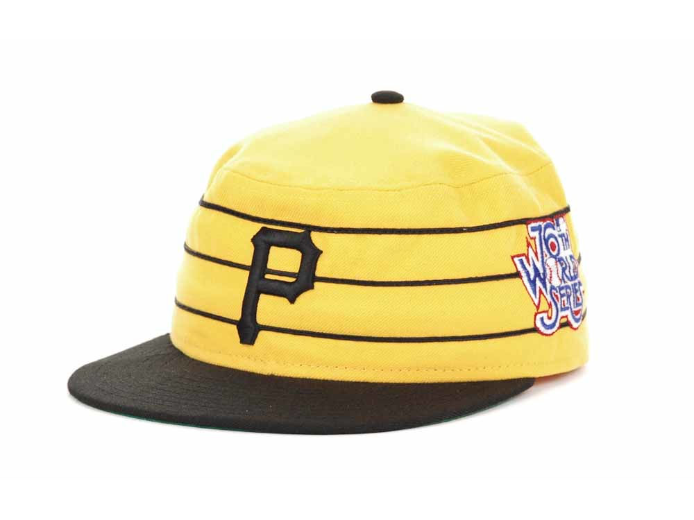 Pittsburgh Pirates New Era MLB Retro World Series Patch 59FIFTY Cap ... 07d2ffa5e705