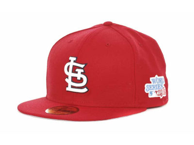 St. Louis Cardinals New Era MLB Retro World Series Patch 59FIFTY Cap