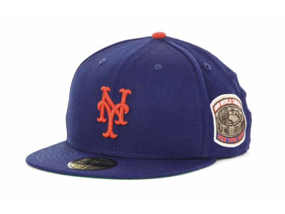 New York Mets New Era MLB Retro World Series Patch 59FIFTY Cap