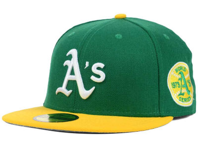 Oakland Athletics New Era MLB Retro World Series Patch 59FIFTY Cap