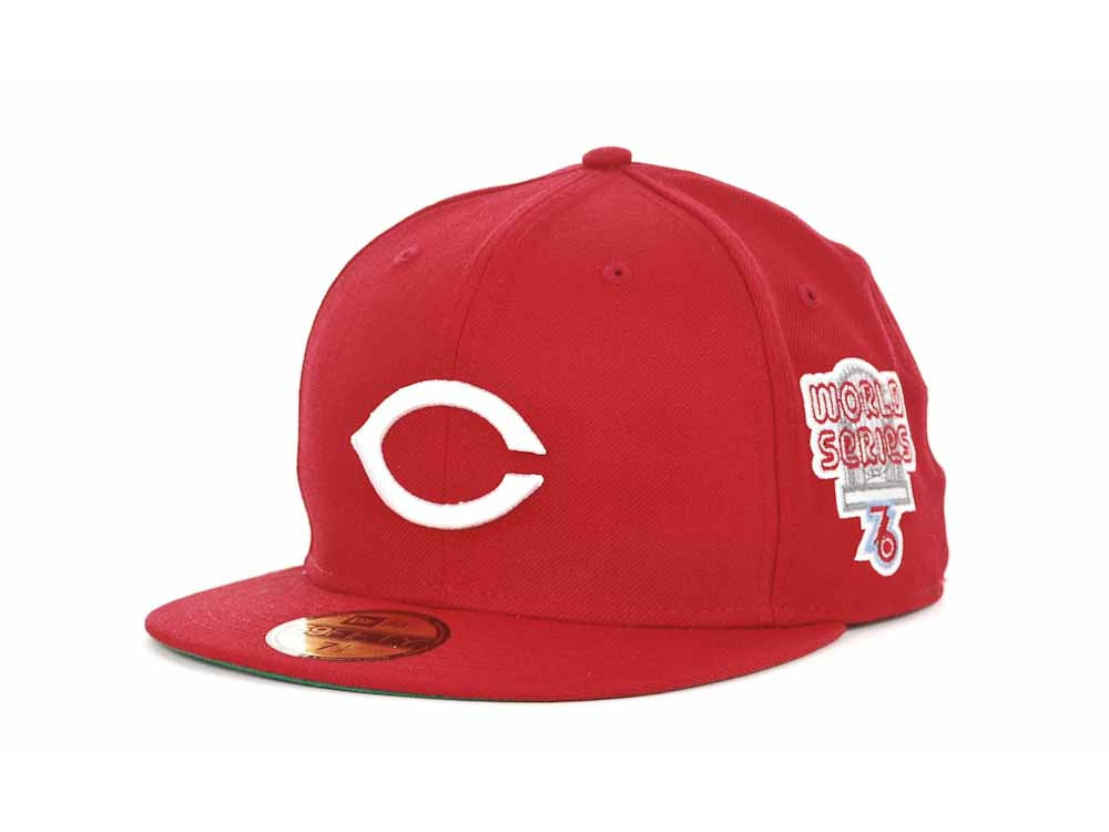 7d69ed24f63 ... order cincinnati reds new era mlb retro world series patch 59fifty cap  6f29c d8a7a