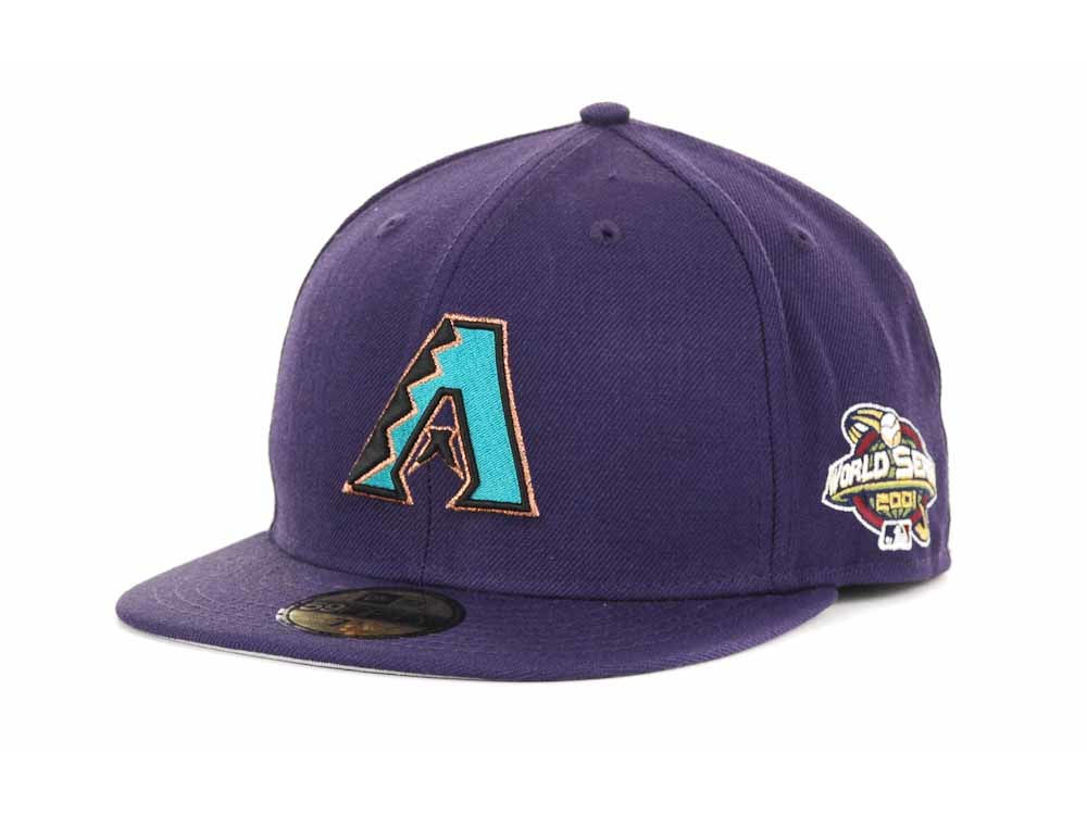 uk availability da890 2a0ae ... uk arizona diamondbacks new era mlb retro world series patch 59fifty  cap e9fed e70b9