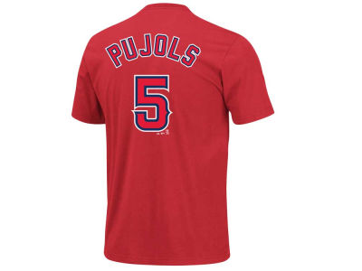 Los Angeles Angels Albert Pujols Majestic MLB Youth Player T-Shirt