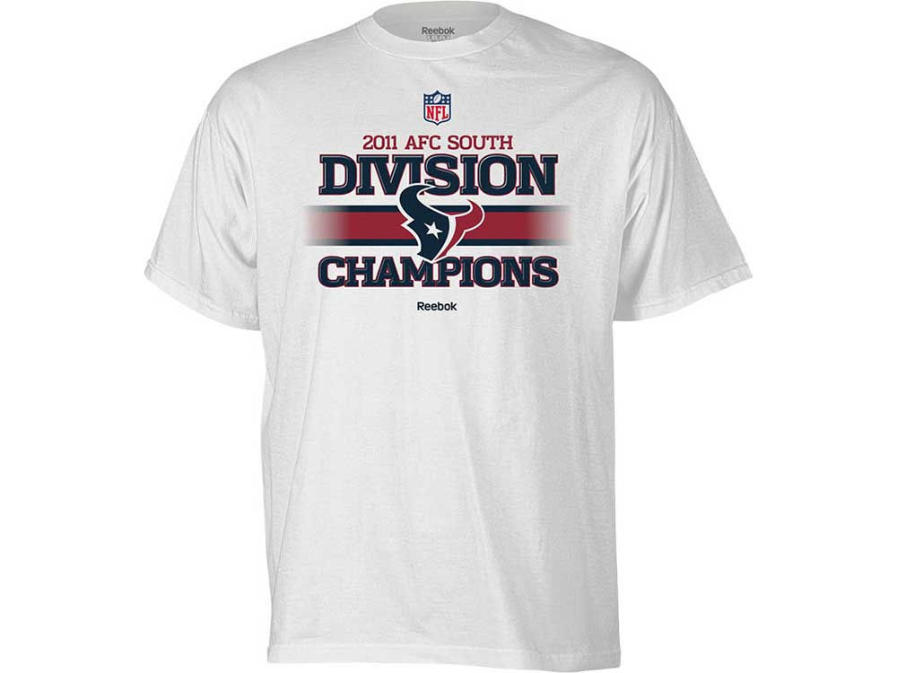 Houston Texans Reebok NFL Division Champs T-Shirt  314cddd80
