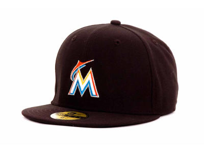 Miami Marlins New Era MLB Authentic Collection 59FIFTY Cap