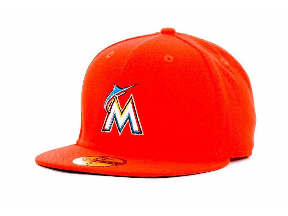 Miami Marlins New Era MLB Authentic Collection 59FIFTY Cap  de950d41ab6c